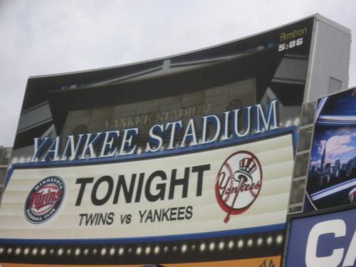 Twins vs Yankees 4511.JPG