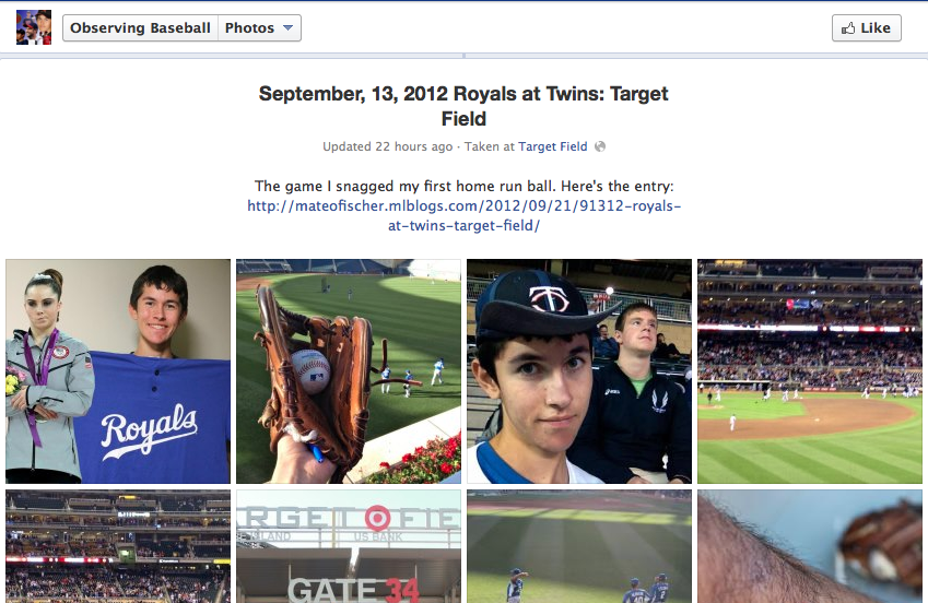 The Observing Baseball Facebook Page 2012-13 Offseason (3/5)