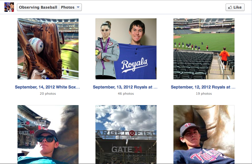The Observing Baseball Facebook Page 2012-13 Offseason (2/5)