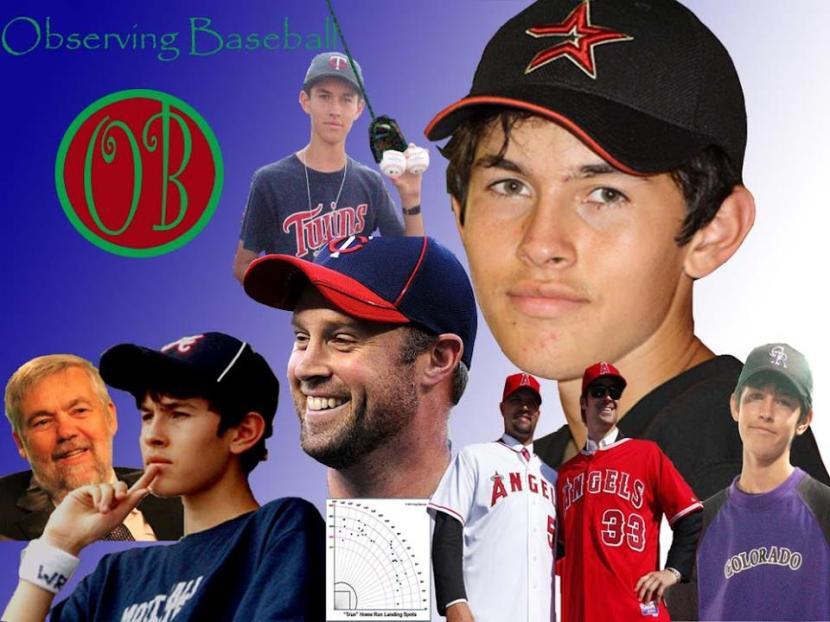 Observing Baseball logo