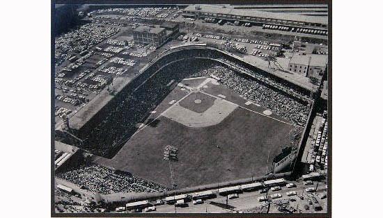 blank stadium