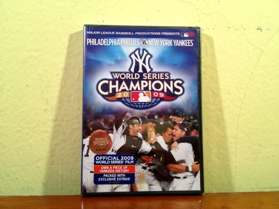 Yankees 2009 Wordl Series DVD