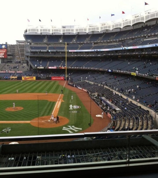 4113 Yankee Stadium Opening Day