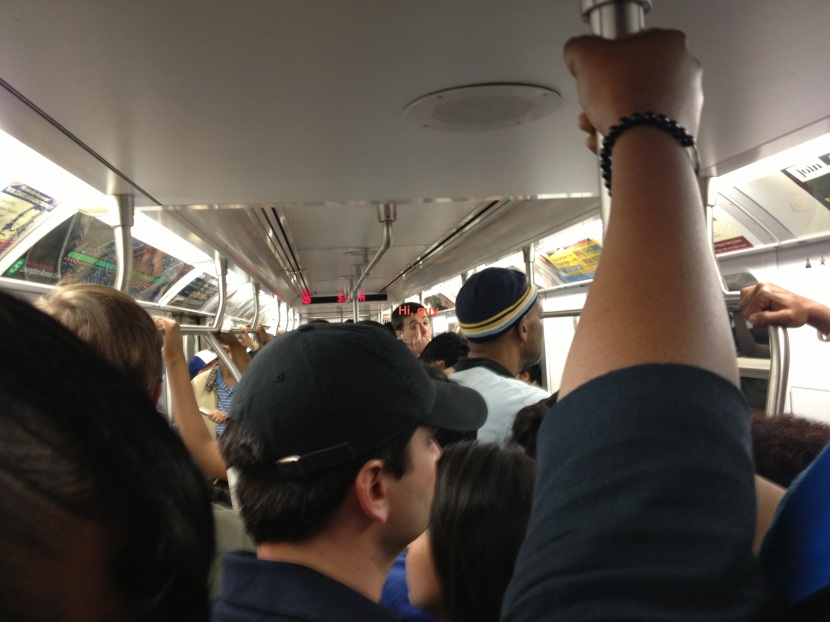 52013 Packed train