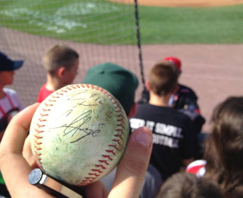 71313 Signed Baseball
