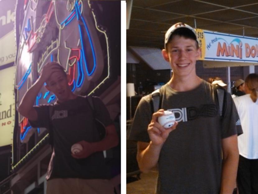 92713 Paul Autographed baseballs